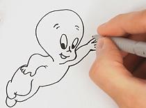Jak narysować duszka Kacperka