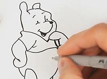 Jak narysować Kubusia Puchatka