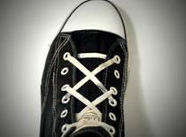 Jak sznurować buty - wiązanie Double X Line