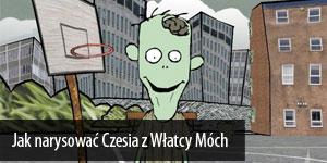 Jak narysować Czesia z Włatcy Móch