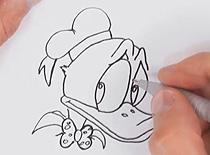 Jak narysować postać Kaczora Donalda