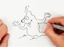 Jak narysować duszka