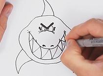 Jak narysować rekina
