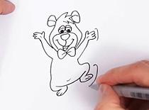 Jak narysować Boo Boo
