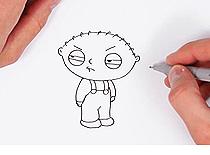 Jak narysować Stewie Griffina