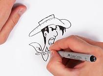 Jak narysować Lucky Luke