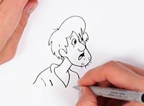 Jak narysować kudłatego (Shaggy) ze Scooby Doo