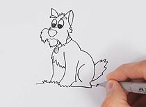 Jak narysować psa - rysowanie zwierząt