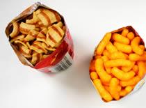 Jak wygodniej jeść chipsy