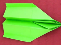 Jak zrobić samolot z papieru: Metal Hawk
