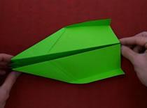 Jak złożyć samolot z papieru - Muscle Eagle
