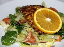 Jak zrobić sałatkę z kurczakiem i pomarańczą - Dieta Dukana
