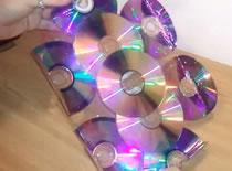 Jak zrobić stojak na papier z płyt CD