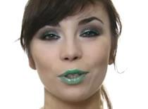 Jak zrobić makijaż na Andrzejki - pistacja z czekoladą