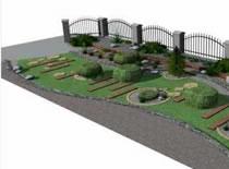 Jak zrobić wizualizację ogrodu #1 - Skalowanie i tekstury