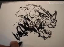 Jak szybko narysować smoka
