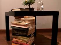 Jak zrobić stół na książkach