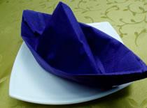 Jak złożyć serwetkę w kształt łódki