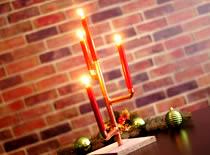 Jak zrobić świecznik z rurek