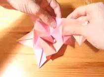 Jak złożyć spiczastą kulę origami