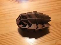 Jak zrobić szyszkę origami