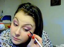 Jak zrobić romantyczny różowy makijaż na wieczór