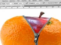 Jak zrobić jabłko ukryte w pomarańczy w Photoshop