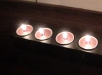 Jak zrobić świecznik ze starej listwy zasilającej