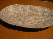 Jak zrobić półmisek z gazety