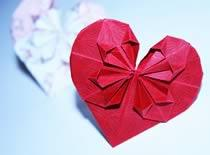 Jak wykonać serce z papieru w 3d