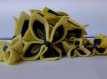 Jak zrobić naszyjnik - kwiatowy żabot