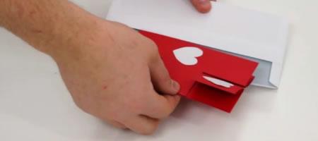 Jak zrobić miłosną kartę - kartki walentynkowe #1