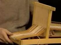 Jak zbudować krosno tkackie i zrobić szalik [2/2]