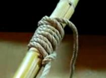 Jak przywiązać linę aby się nie ślizgała