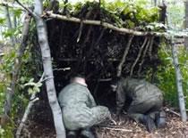 Jak zbudować schronienie #2 - szałas