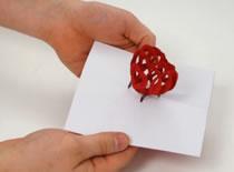 Jak zrobić rozkładane serce 3D na walentynki