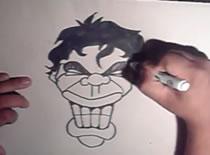 Jak narysować twarz z zaciśniętymi zębami