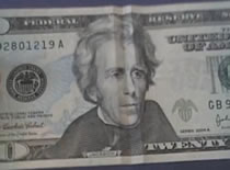 Jak zrobić iluzję z twarzą na banknocie