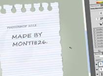 Jak zrobić kartkę papieru w linie w Photoshop