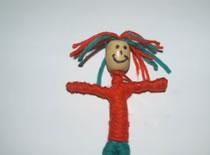 Jak zrobić lalkę z wełny i drutu