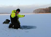 Jak i z czego zrobić wędkę pod lód