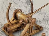 Jak zrobić katapultę wg schematu Leonardo da Vinci