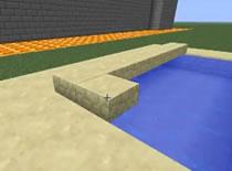 Jak zrobić basen na dzwignię w Minecraft