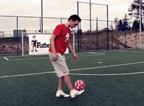 Jak nauczyć się Toe Bounce - freestyle football
