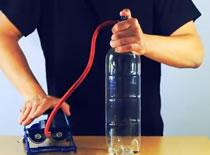 Jak zrobić chmurę w butelce