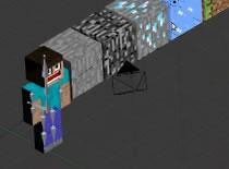 Jak zrobić animację Minecraft w Blenderze #3 - sceneria