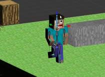 Jak zrobić animację Minecraft w Blenderze #4 - chodzenie