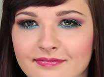 Jak wykonać multikolor make up
