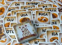 Jak udawać język jaskiniowców w grze imprezowej Uga Buga