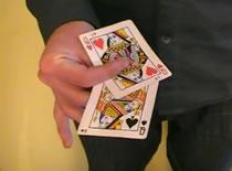 Jak efektownie pokazać 4 karty